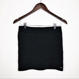 VS PINK Black Mini Skirt Size Small